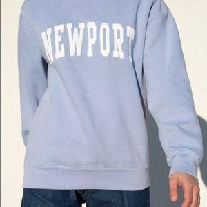 brandy melville erica newport sweatshirt